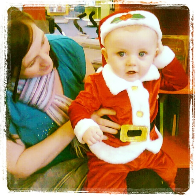 Christmas Bookbug sesion at Leith Library